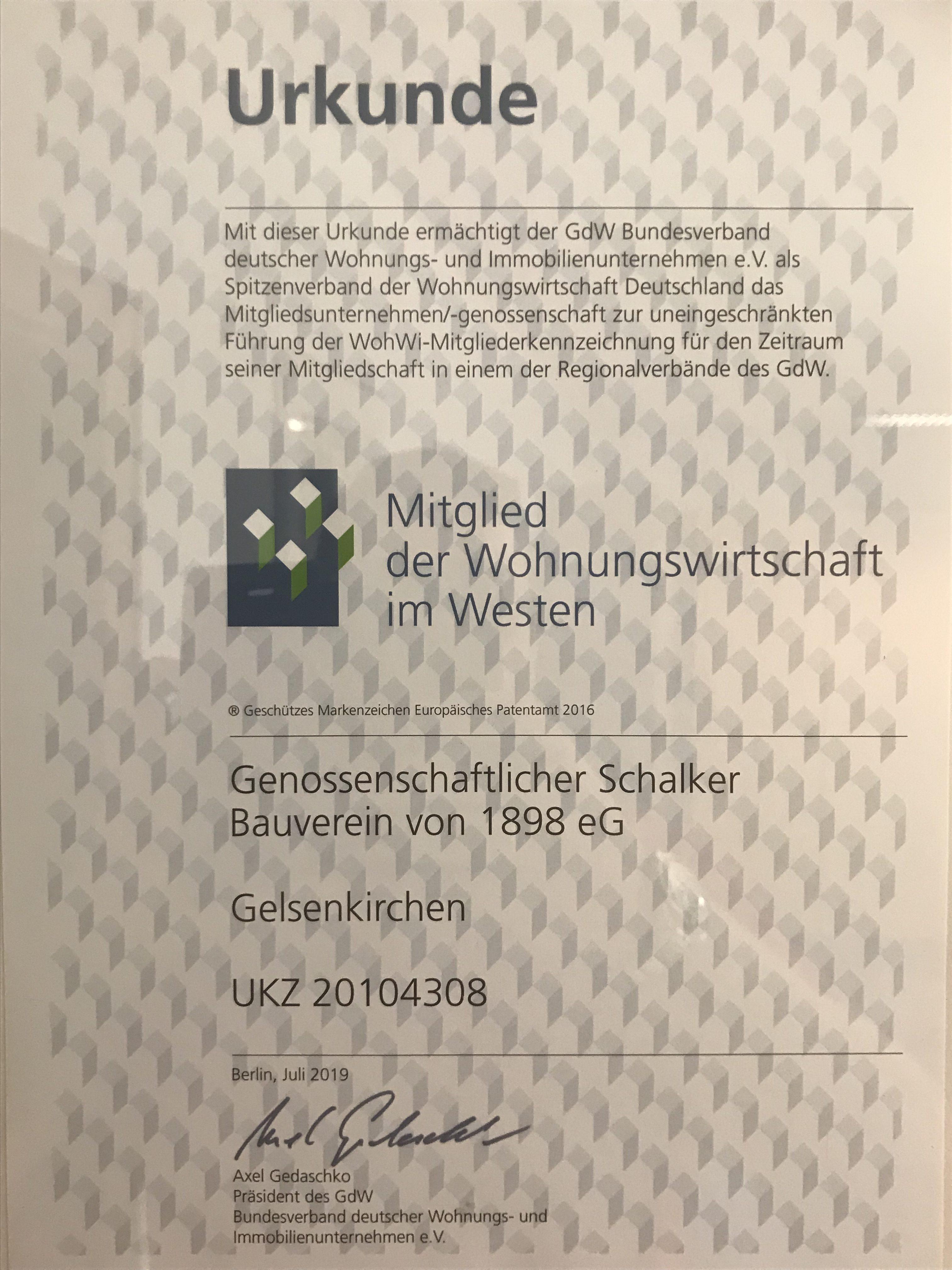 """Urkunde gegen """"schwarze Schafe"""""""