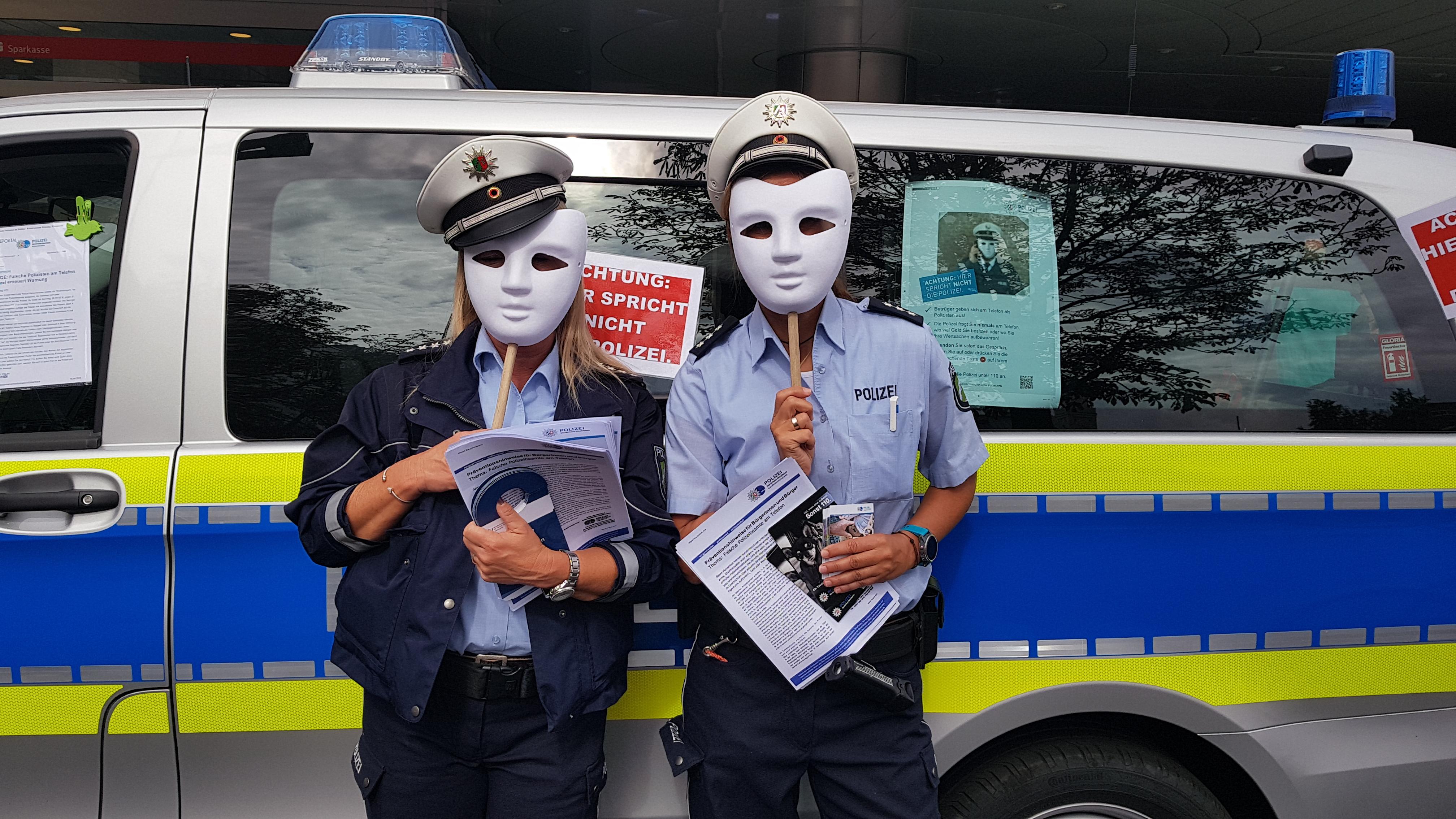 Achtung vor dem falschen Polizisten